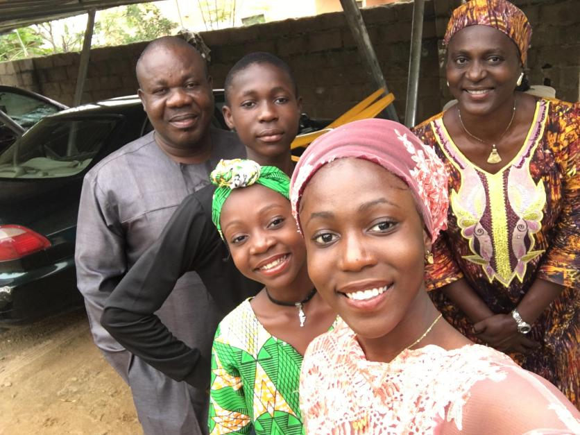 LR student Beulah yusuf hails from Yola in Nigeria.