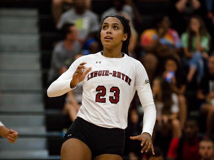 Former LR basketball and volleyball standout Jackie Denny.